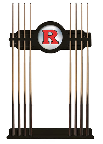 Rutgers Cue Rack in Black Finish by Holland Bar Stool; UPC: 071235431273