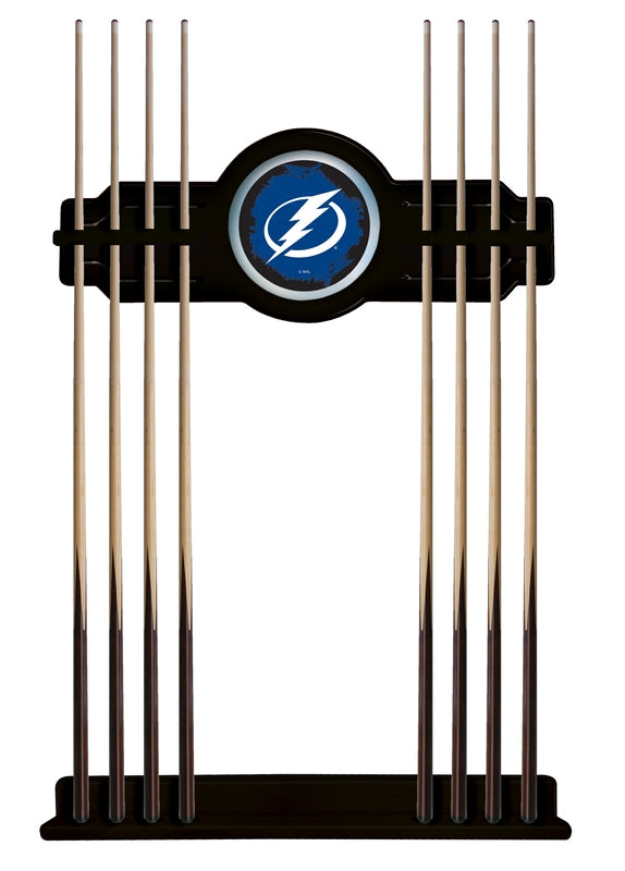 Tampa Bay Lightning Cue Rack in Black Finish by Holland Bar Stool; UPC: 071235436155