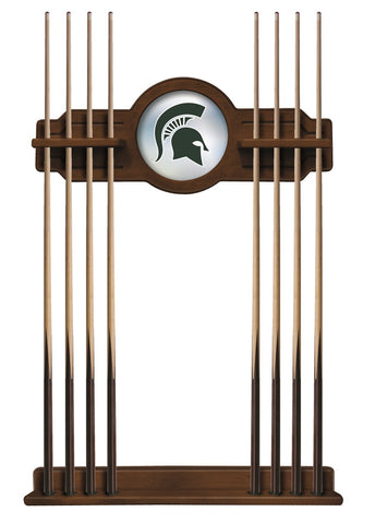 Michigan State Cue Rack in Chardonnay Finish by Holland Bar Stool; UPC: 071235432263