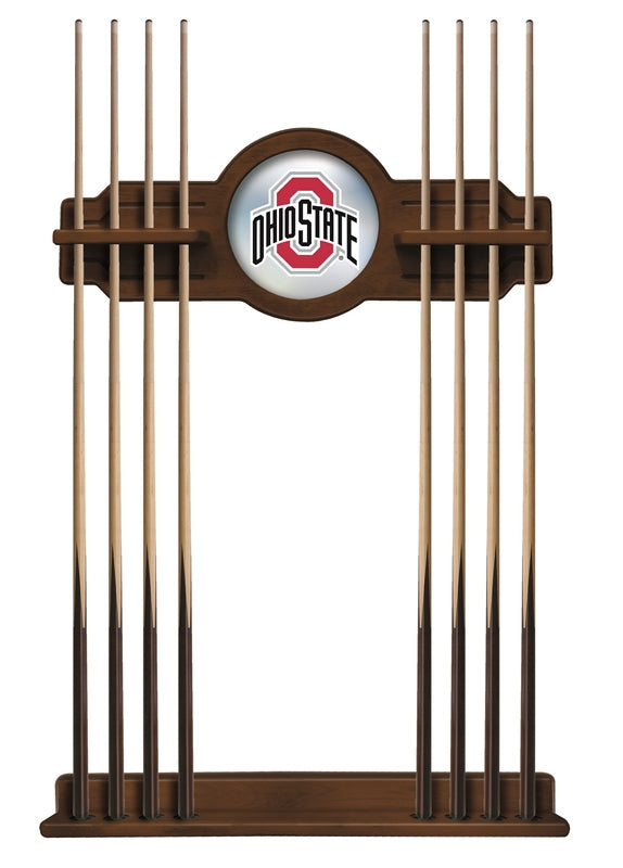 Ohio State Cue Rack in Chardonnay Finish by Holland Bar Stool; UPC: 071235432522