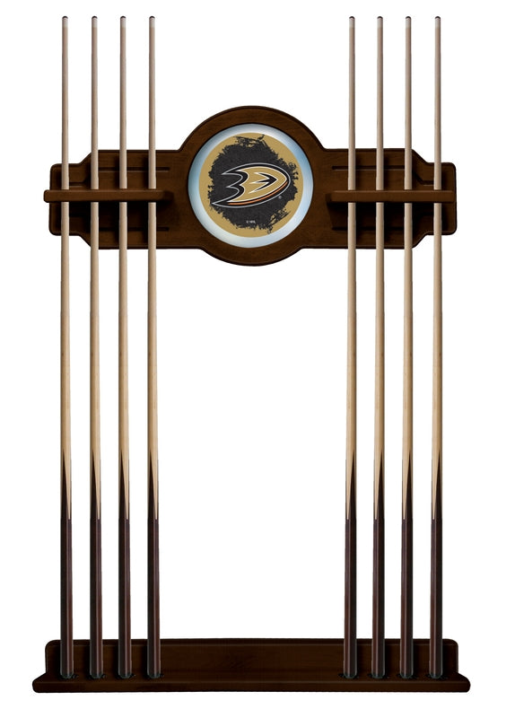 Anaheim Ducks Cue Rack in Navajo Finish by Holland Bar Stool; UPC: 071235436803