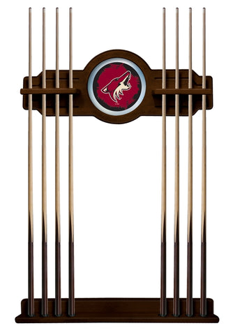 Arizona Coyotes Cue Rack in Navajo Finish by Holland Bar Stool; UPC: 071235436810