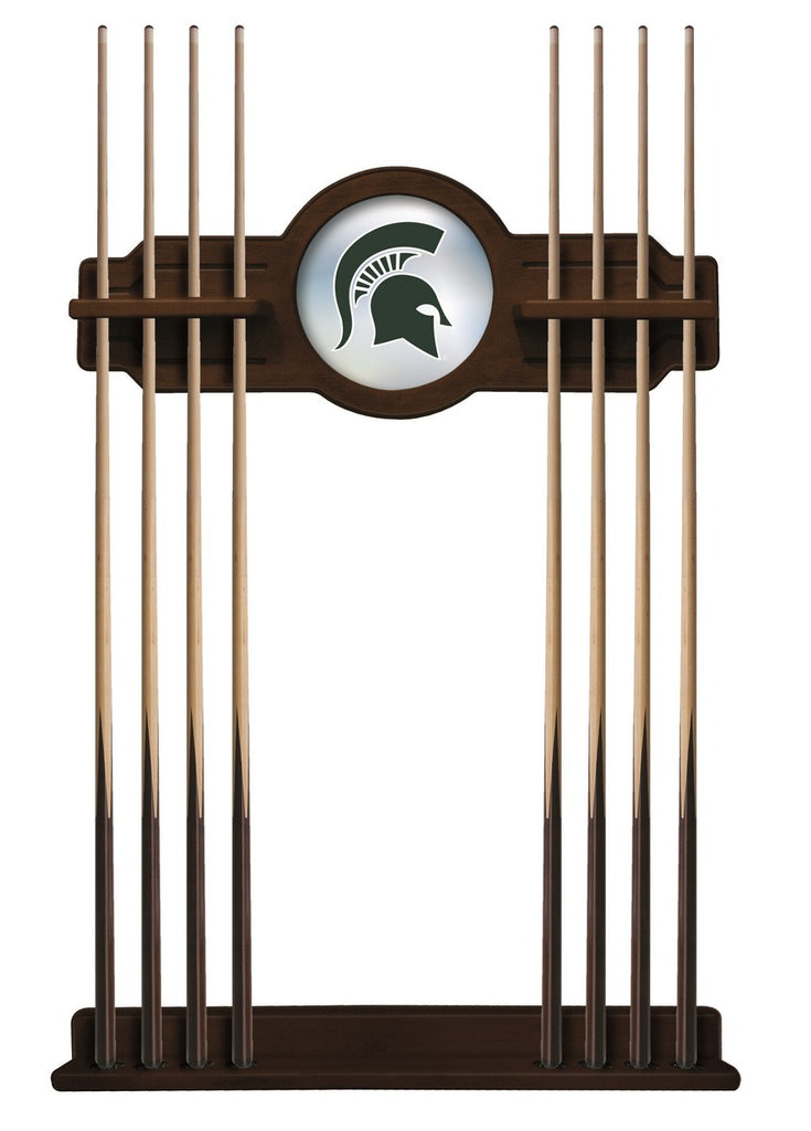 Michigan State Cue Rack in Navajo Finish by Holland Bar Stool; UPC: 071235434908