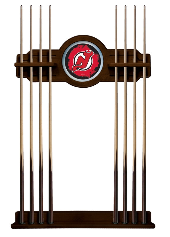 New Jersey Devils Cue Rack in Navajo Finish by Holland Bar Stool; UPC: 071235436964