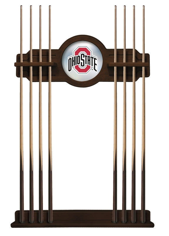 Ohio State Cue Rack in Navajo Finish by Holland Bar Stool; UPC: 071235435165