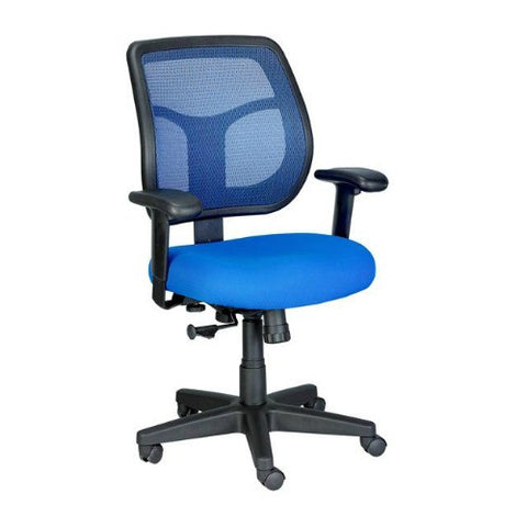 Eurotech MT9400 Swivel Tilt Task Chair in Blue ; UPC: 669245990752