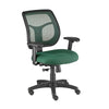 Eurotech Apollo Mid Back Adjustable Task Chair in Green