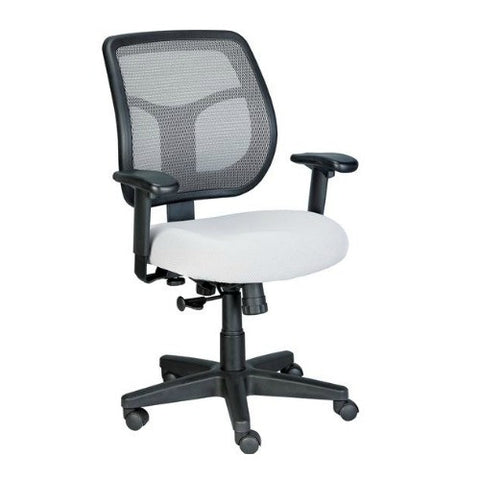 Eurotech MT9400 Swivel Tilt Task Chair in Silver ; UPC: 669245990769