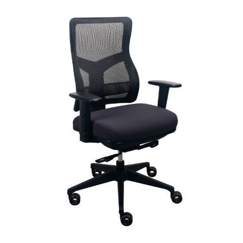 The Raynor Group Tempurpedic Series Task Chair ; UPC: 669245997584 ; Color: Charcoal
