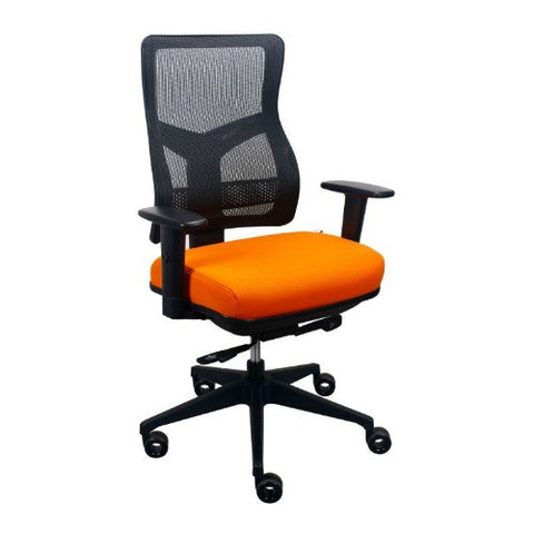 The Raynor Group Tempurpedic Series Task Chair ; UPC: 669245997584 ; Color: Orange