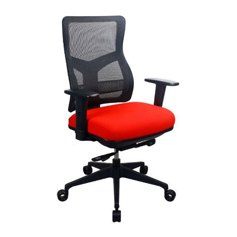 Eurotech Tempurpedic Series Task Chair ; UPC: 669245997584 ; Color: Red