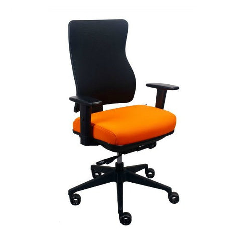 The Raynor Group Tempurpedic 250 Series Task Chair ; UPC: 669245997607 ; Color: Orange