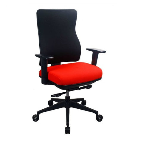 The Raynor Group Tempurpedic 250 Series Task Chair ; UPC: 669245997607 ; Color: Red