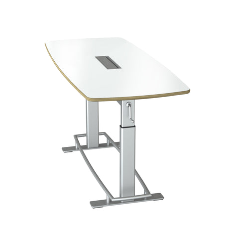 Safco Products Confluence Table 6, Kit - Top & Base FCT-78-A-S-BK Image 4
