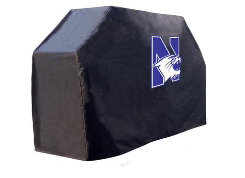 "72"" Northwestern Grill Cover by Covers by HBS; UPC: 071235273378"