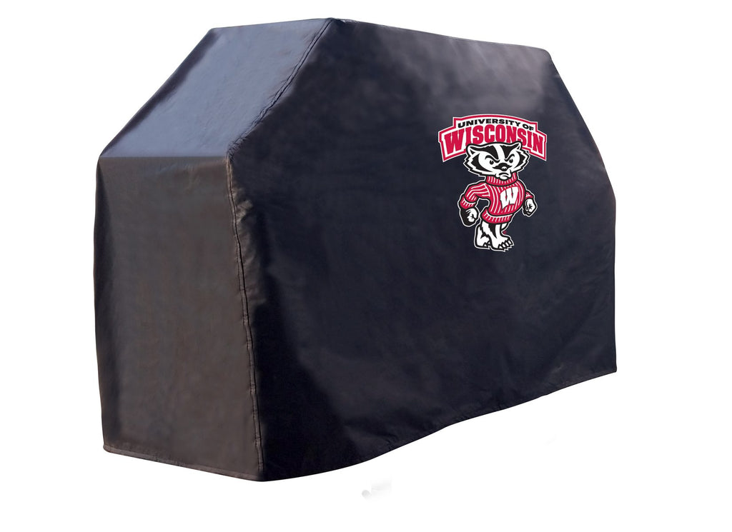 "60"" Wisconsin ""Badger"" Grill Cover by Holland Bar Stool; UPC: 071235272524"