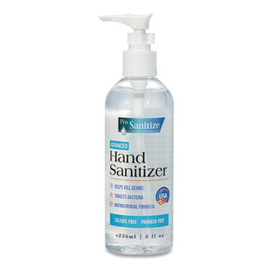 GEN ProSanitize Hand Sanitizer, 8 oz Bottle, Unscented, 12/Carton GN1E236SAN