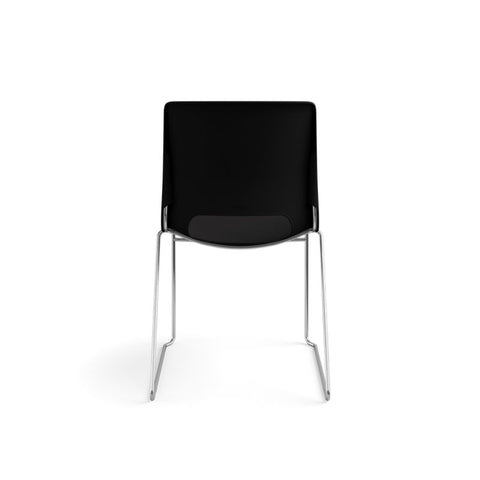 HON Motivate High-Density Stacking Chair | Onyx Shell | 4 per Carton ; UPC: 631530562852 ; Image 6