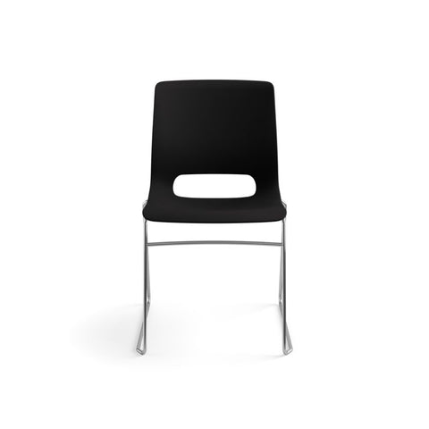 HON Motivate High-Density Stacking Chair | Onyx Shell | 4 per Carton ; UPC: 631530562852 ; Image 12