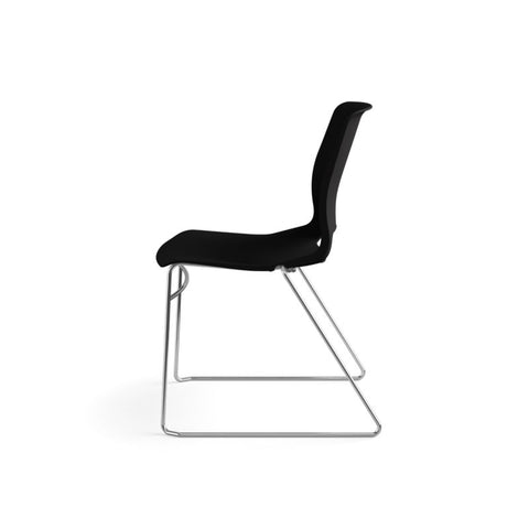 HON Motivate High-Density Stacking Chair | Onyx Shell | 4 per Carton ; UPC: 631530562852 ; Image 9