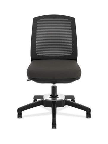 HON Active Task Chair | Armless | 360-Degree Pivot Motion | Black Mesh ; UPC: 884128789753 ; Image 7