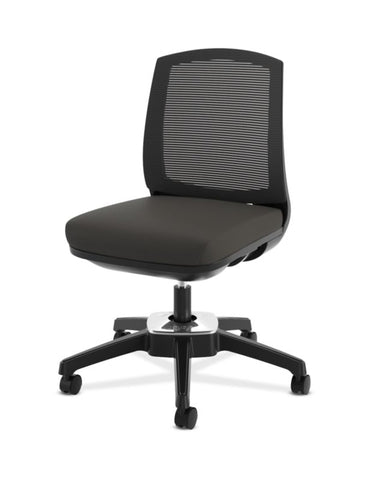 HON Active Task Chair | Armless | 360-Degree Pivot Motion | Black Mesh ; UPC: 884128789753 ; Image 6