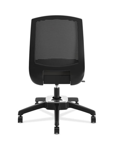 HON Active Task Chair | Armless | 360-Degree Pivot Motion | Black Mesh ; UPC: 884128789753 ; Image 3