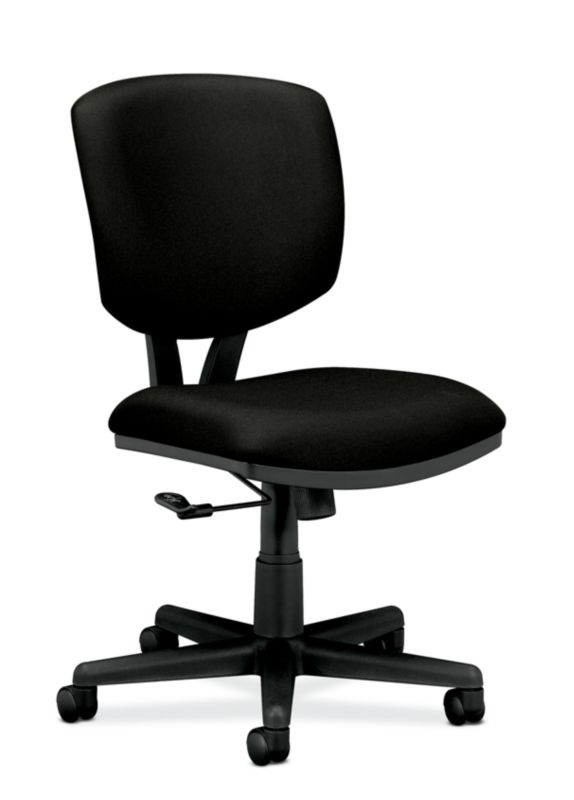HON Volt Task Chair | Center-Tilt, Tension, Lock | Black Fabric ; UPC: 887146252346 ; Image 1