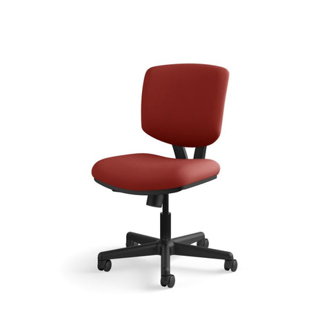 HON Volt Task Chair | Center-Tilt, Tension, Lock | Crimson Fabric ; UPC: 641128720595 ; Image 11