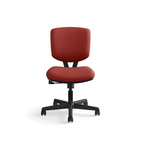 HON Volt Task Chair | Center-Tilt, Tension, Lock | Crimson Fabric ; UPC: 641128720595 ; Image 12