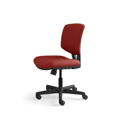 HON Volt Task Chair | Center-Tilt, Tension, Lock | Crimson Fabric ; UPC: 641128720595 ; Image 10