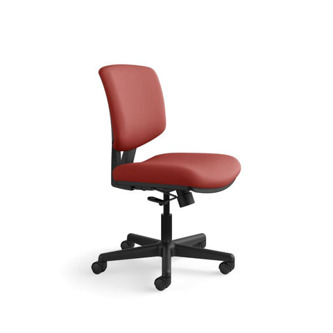 HON Volt Task Chair | Center-Tilt, Tension, Lock | Crimson Fabric ; UPC: 641128720595 ; Image 2