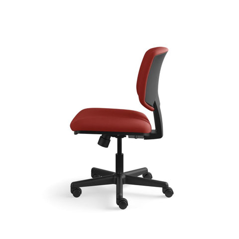 HON Volt Task Chair | Center-Tilt, Tension, Lock | Crimson Fabric ; UPC: 641128720595 ; Image 9
