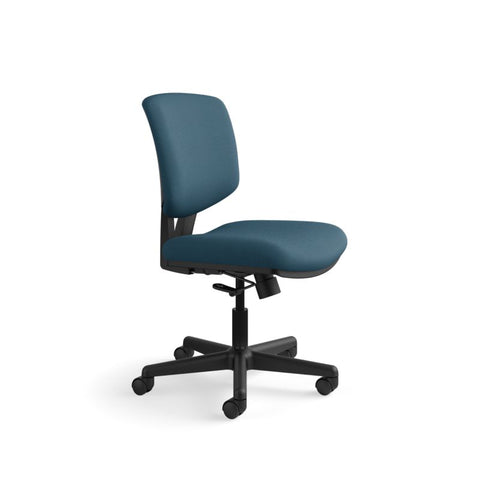 HON Volt Task Chair | Center-Tilt, Tension, Lock | Navy Fabric ; UPC: 782986472292 ; Image 2