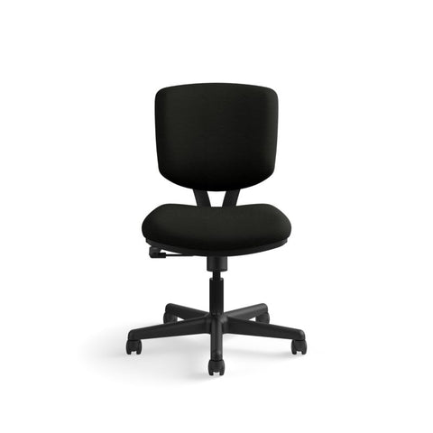 HON Volt Task Chair | Center-Tilt, Tension, Lock | Black SofThread Leather ; UPC: 791579531728 ; Image 12
