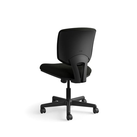 HON Volt Task Chair | Center-Tilt, Tension, Lock | Black SofThread Leather ; UPC: 791579531728 ; Image 7