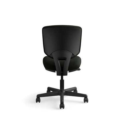 HON Volt Task Chair | Center-Tilt, Tension, Lock | Black SofThread Leather ; UPC: 791579531728 ; Image 6
