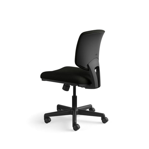 HON Volt Task Chair | Center-Tilt, Tension, Lock | Black SofThread Leather ; UPC: 791579531728 ; Image 8