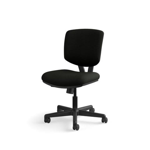 HON Volt Task Chair | Center-Tilt, Tension, Lock | Black SofThread Leather ; UPC: 791579531728 ; Image 11