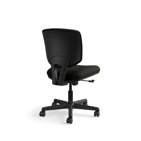 HON Volt Task Chair | Center-Tilt, Tension, Lock | Black SofThread Leather ; UPC: 791579531728 ; Image 5