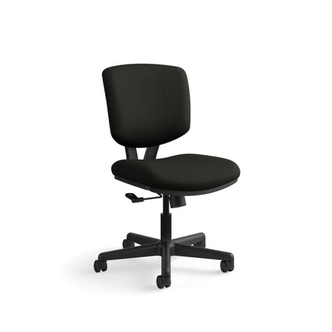 HON Volt Task Chair | Center-Tilt, Tension, Lock | Black SofThread Leather ; UPC: 791579531728 ; Image 13