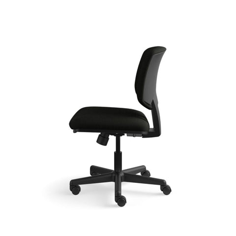HON Volt Task Chair | Center-Tilt, Tension, Lock | Black SofThread Leather ; UPC: 791579531728 ; Image 9