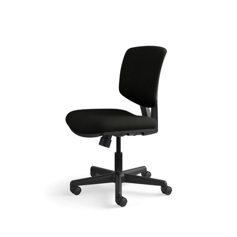 HON Volt Task Chair | Center-Tilt, Tension, Lock | Black SofThread Leather ; UPC: 791579531728 ; Image 10
