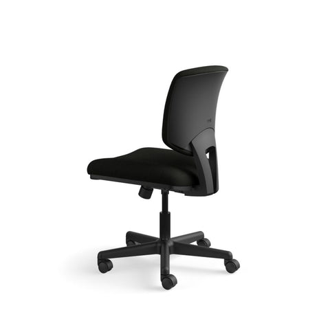 HON Volt Task Chair | Synchro-Tilt, Tension, Lock | Black SofThread Leather ; UPC: 631530062048 ; Image 8