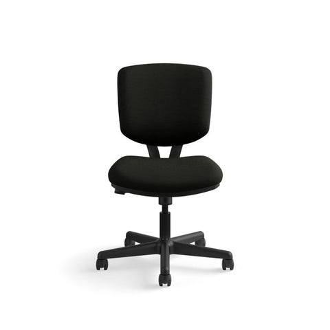 HON Volt Task Chair | Synchro-Tilt, Tension, Lock | Black SofThread Leather ; UPC: 631530062048 ; Image 12