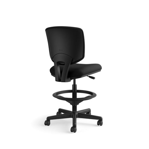 HON Volt Task Stool | Extended Height, Footring | Black Fabric ; UPC: 641128986397 ; Image 5