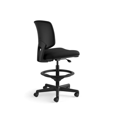 HON Volt Task Stool | Extended Height, Footring | Black Fabric ; UPC: 641128986397 ; Image 4