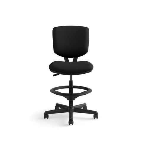 HON Volt Task Stool | Extended Height, Footring | Black Fabric ; UPC: 641128986397 ; Image 12