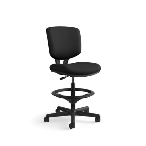 HON Volt Task Stool | Extended Height, Footring | Black Fabric ; UPC: 641128986397 ; Image 13