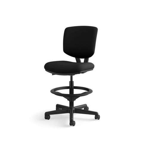 HON Volt Task Stool | Extended Height, Footring | Black Fabric ; UPC: 641128986397 ; Image 11